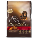 Pro Plan Duo Delice Adult Small Manzo