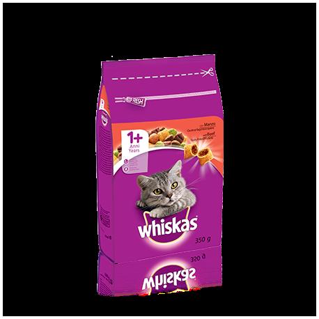 Whiskas Adult 1+ Croccantini Ripieni Con Manzo