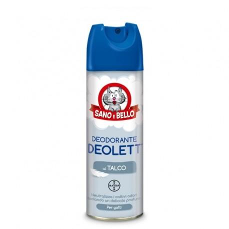Bayer Deolett Deodorante per Gatti e Lettiere