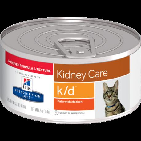 Hill's Prescripion Diet  Feline K/D Umido