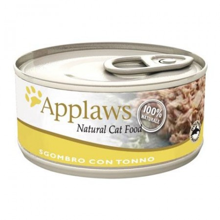 Applaws Cat - Sgombro con Tonno Lattina 70 gr