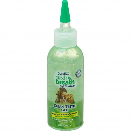 TropiClean Fresh Breath Gel Dentale