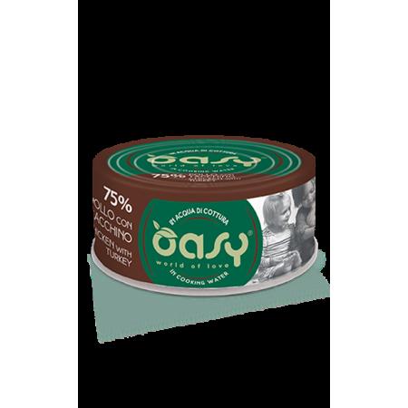 Oasy Gatto More Love - Pollo Con Tacchino