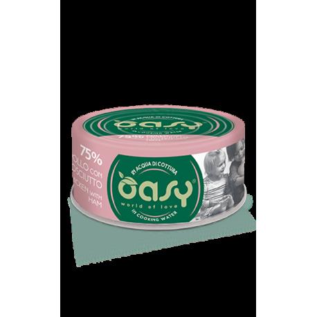 Oasy Gatto More Love - Pollo Con Prosciutto