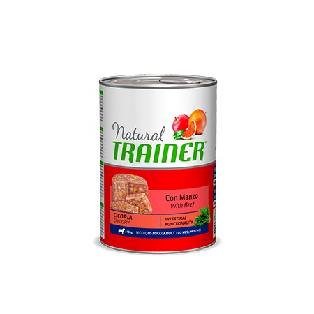 Natural Trainer Adult Medium con Manzo