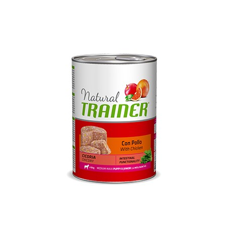 Natural Trainer Puppy & Junior Medium Con Pollo