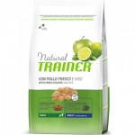 Natural Trainer Adult Maxi con Pollo Fresco, Riso e Aloe Vera