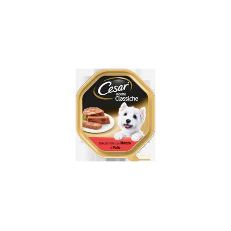 Cesar Ricette Classiche Patè con Manzo e Pollo