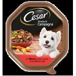 Cesar Ricette di Campagna con Manzo Pasta e Carote in Salsa