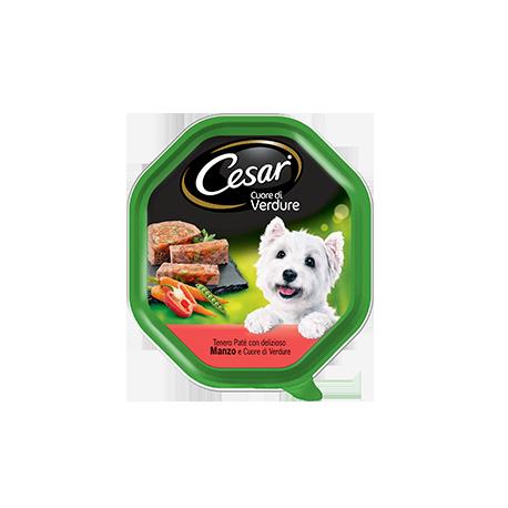 Cesar Selezione dell'Orto Patè con Manzo con Cuore di Verdure