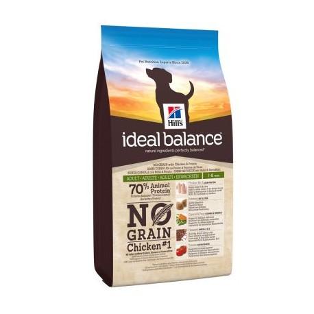 Hill's Ideal Balance Canine NOGRAIN Pollo e Patate