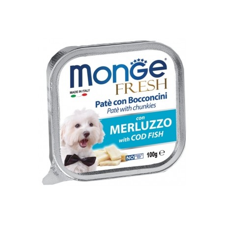 Monge Fresh Paté e Bocconcini con Merluzzo