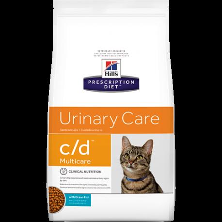 Hill's Prescription Diet Feline C/D Pesce Oceanico Secco