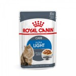 Royal Canin Feline Health Nutrition Wet - Ultra Light in salsa