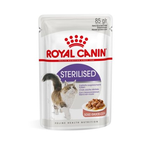 Royal Canin Feline Health Nutrition Wet - Sterilised in salsa