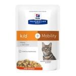 Hill's Prescripion Diet  Feline K/D Con Pollo Bustine