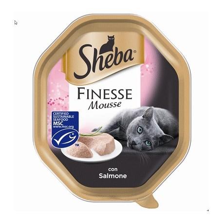 Sheba Finesse Mousse Al Salmone