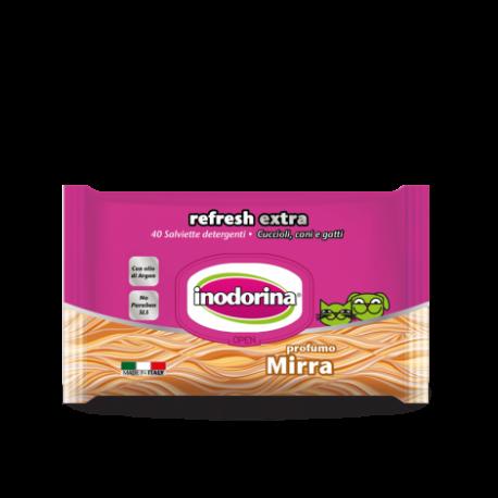 Inodorina Salviette Refresh Extra Mirra
